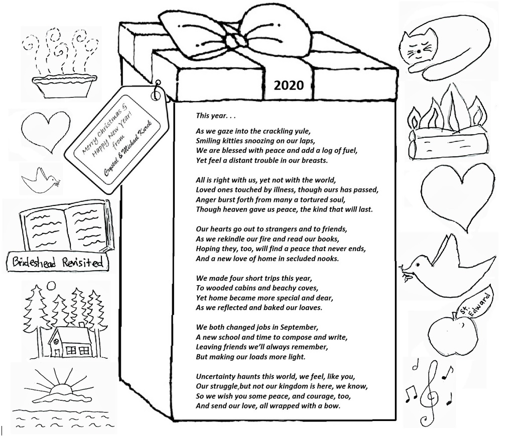 2020 Christmas Card Poem